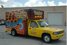 PART118 - Custom Partial Wrap for Restaurant