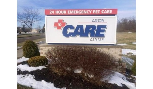 Need a face change?  Well take care of it!  (Digitally Printed Graphics by Signs Now Cincinnati for Dayton Care Center, Centerville, OH)