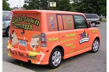 - Image360-Lexington-KY-Vehicle-Graphics-Full-Wrap-Restaurant-Gatti-Town