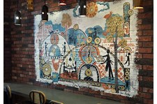- Image360-Woodbury-MN-Wall-Graphics-Restaurant-Brueggars