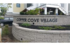 Copper Cove Village 3D Sign in Weymouth, Mass